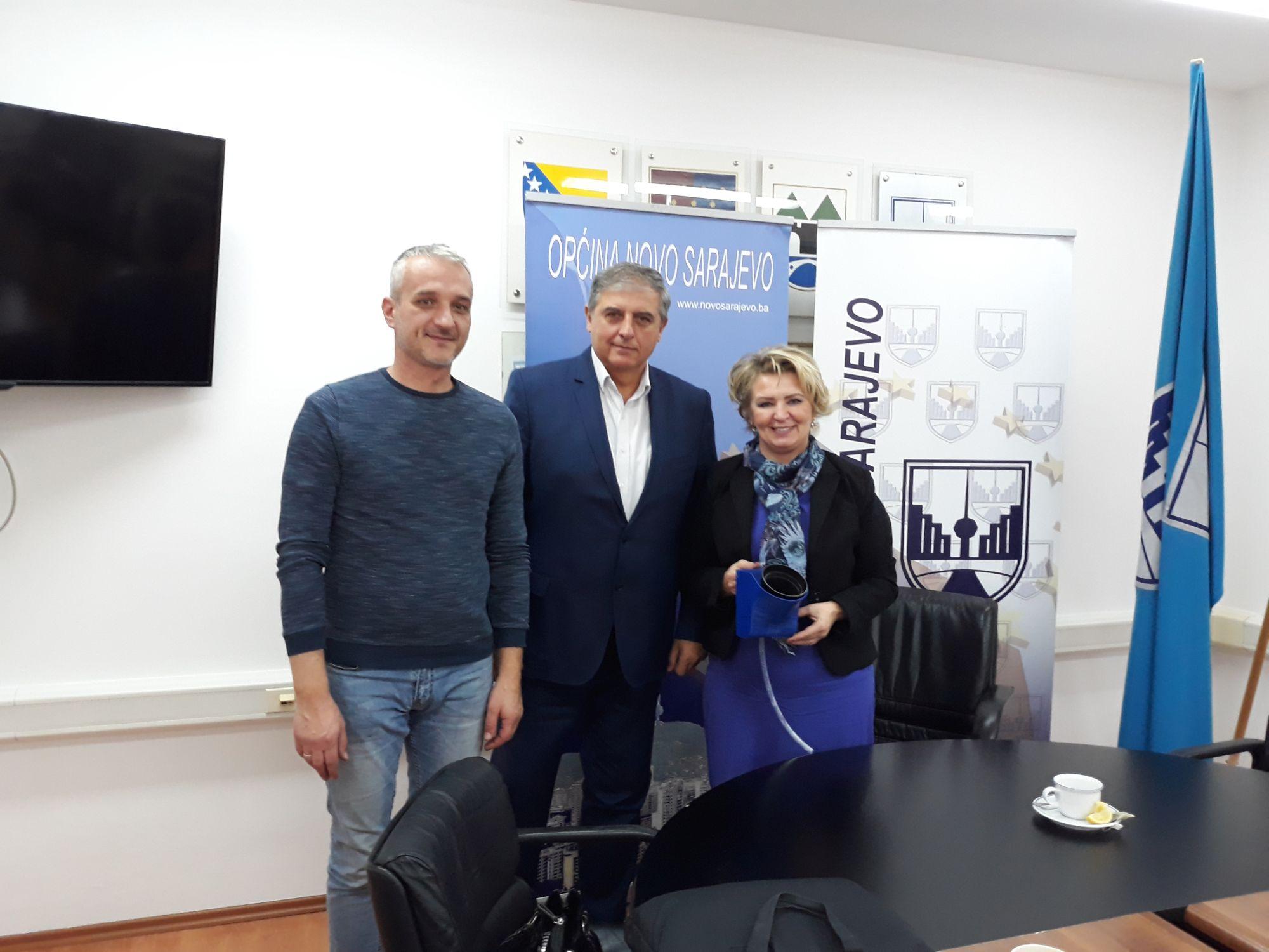 Meeting at the Municipality Novo Sarajevo, Sarajevo